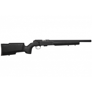 CZ - 457 ProVarmint Suppressor-Ready Bolt Action Rimfire Rifle 22 LR 16.5'' barrel - Black Painted laminate stock