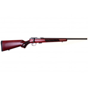 """CZ - 457 457 Canadian cal. 22 LR, 20"""" 1/2x20 - Wood Stock - With Amazing Checkering"""
