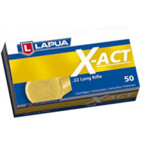 Lapua X-ACT Ammunition .22lr