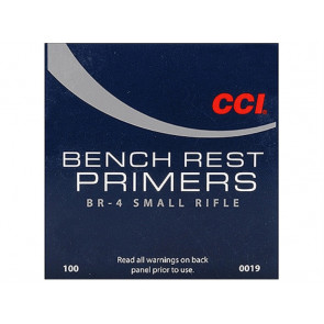 CCI Benchrest Primers #BR4 Small Rifle