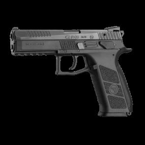 CZ - P09 9mm Luger Semi Auto Pistol- 4.5″ Barrel 10+1 - decocking+manual safety