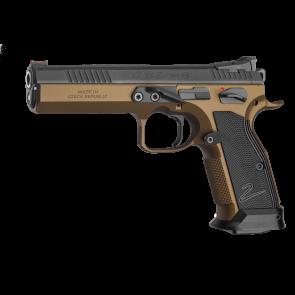 CZ - Tactical Sport TS 2 DEEP BRONZE 9mm (9x19)  - Coming Spring 2021
