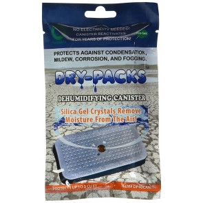 Dry Packs dehumidifying canister - Dessecant
