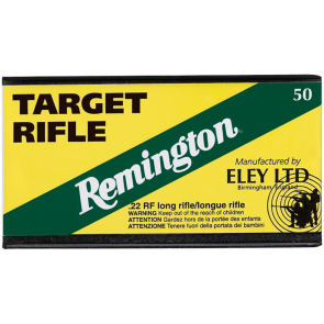 REMINGTON ELEY c.22 LR TARGET Ammunition .22lr - Tesro Canada