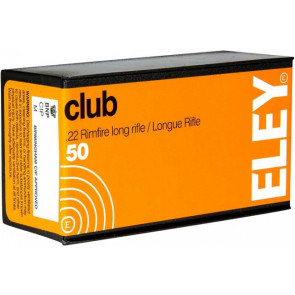 Eley Club Smallbore Ammunition .22 lr