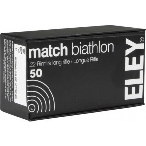 Eley Match Biathlon Ammunition .22lr Smallbore