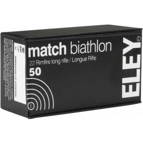 Eley Match Biathlon Ammunition .22lr Smallbore
