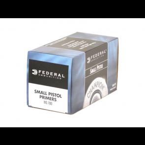 Federal - Small Pstil  Primers - #100 pack of 1000
