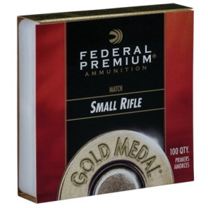 Federal - Premium Gold Medal Small Rifle Match Primers - #205M