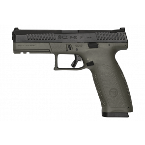 CZ - P10 F OD Green 9mm Luger Semi Auto Pistol - 4.5″ Barrel 10+1
