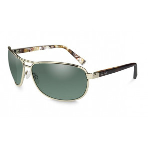 Klein Polarized Green in gold frame