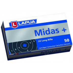 Lapua Midas Plus .22lr Smallbore Ammunition