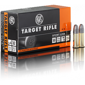 RWS Target Rifle Ammunition .22lr