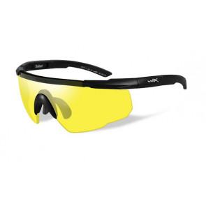 Wiley X - Saber Advanced Yellow Lense / Matte Black Frame - Protective Eyewear