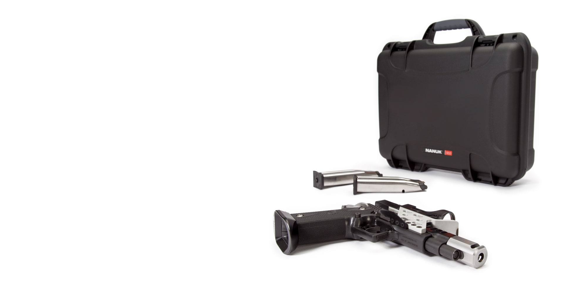 NANUK 910 Case for Handguns