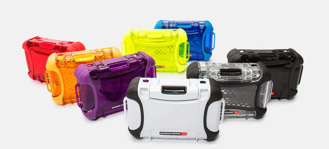 Nanuk Nano Cases Colours