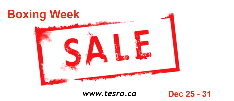 Tesro Canada Boxing week Sale