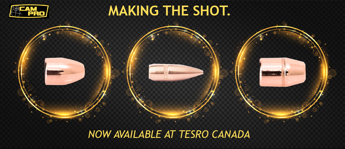 Campro bullets for relaoding now available at tesro canada